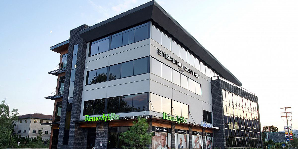 3210 25th Avenue, Vernon, BC - Sterling Centre Vernon Office Space for Lease
