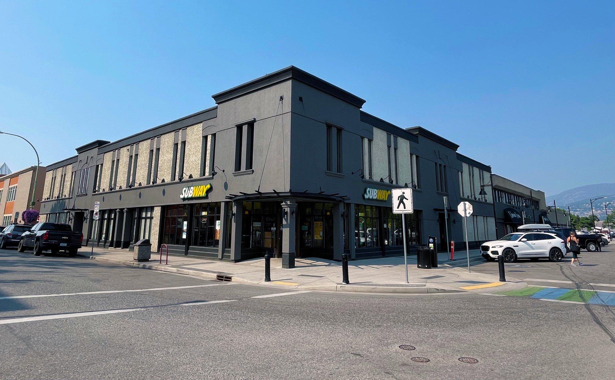 1460 Pandosy Street, Kelowna, BC - Downtown Kelowna Professional Office Space