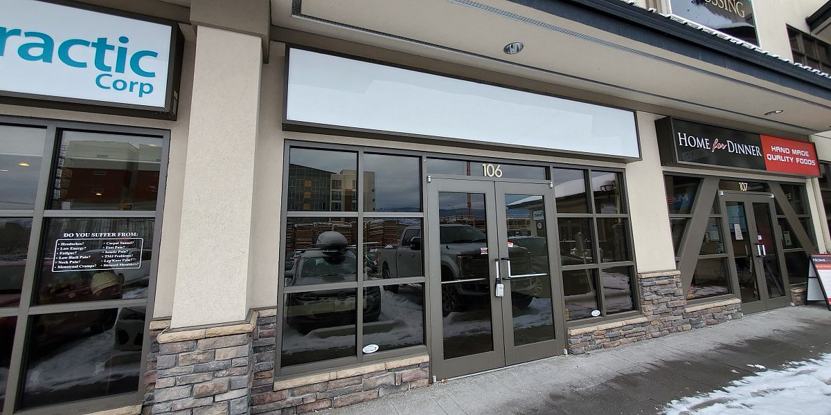 #106-1912 Enterprise Way, Kelowna, BC - Retail Space for Lease at Mill Creek Crossing