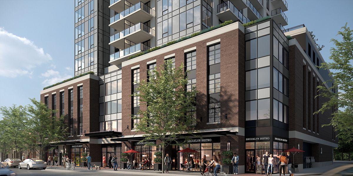 1471 St Paul Street, Kelowna, BC - High Profile Retail Space at Brooklyn at Bernard Block