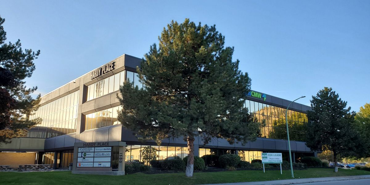 #305-1500 Hardy Street, Kelowna, BC - Sublease Office Space at Hardy Place