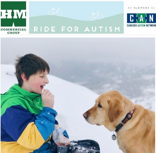 HM Commercial Ride For Autism – In Support Of Canucks Autism Network – September 16th, 2018