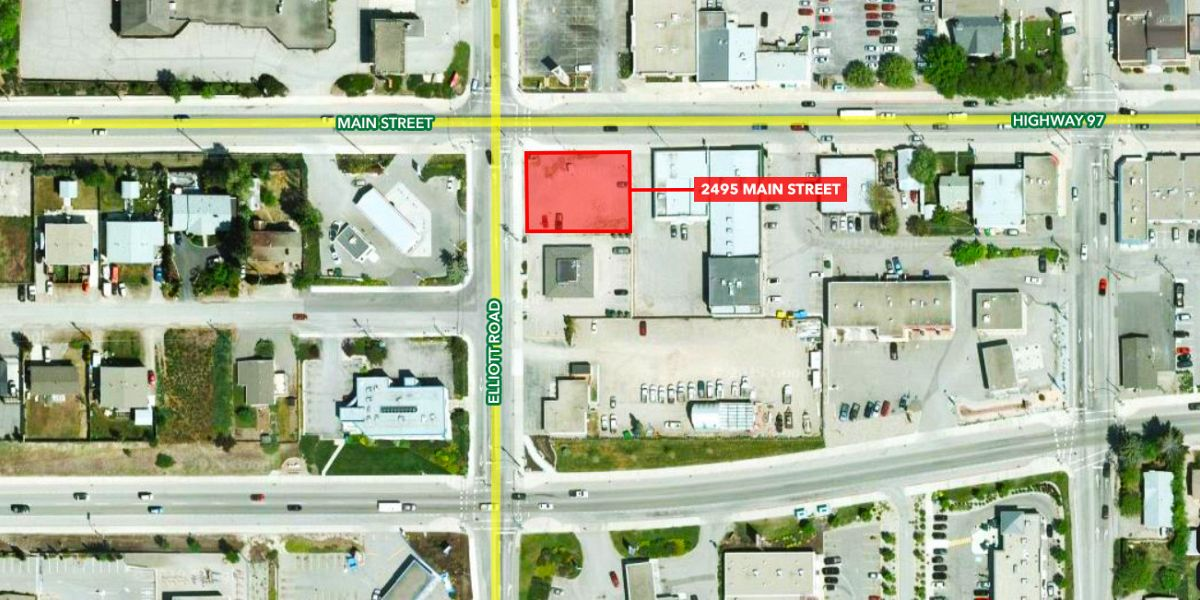 2495 Main Street, West Kelowna, BC - Corner Development Site in West Kelowna