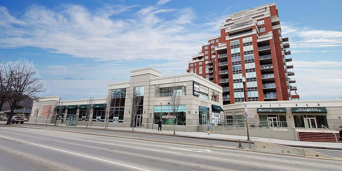 1111 Lawson Avenue, Kelowna, BC - Retail Space for Lease at Centuria Village