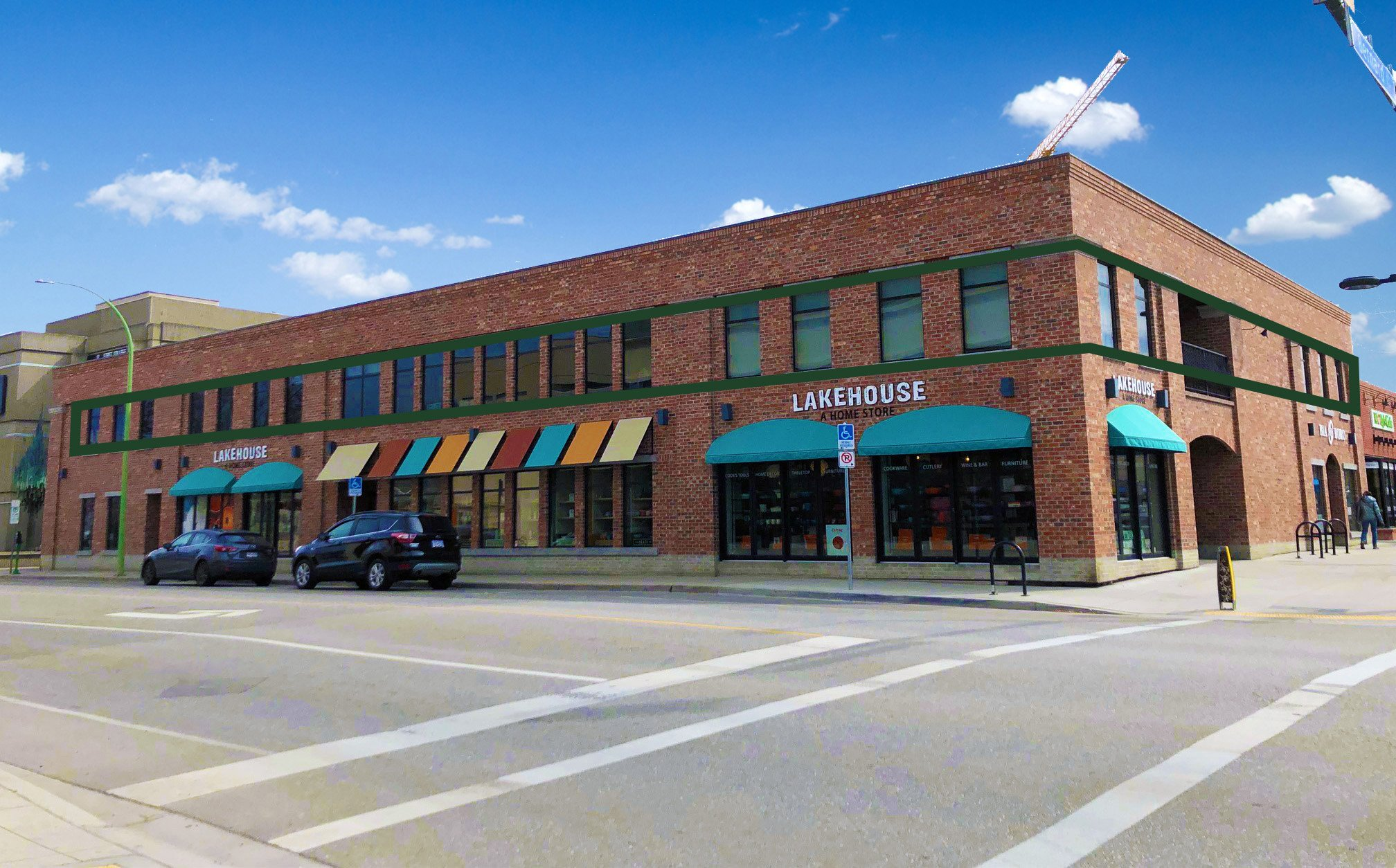 #200 - 510 Bernard Avenue, Kelowna, BC - Second Floor Office Space for Sublease in Downtown Kelowna