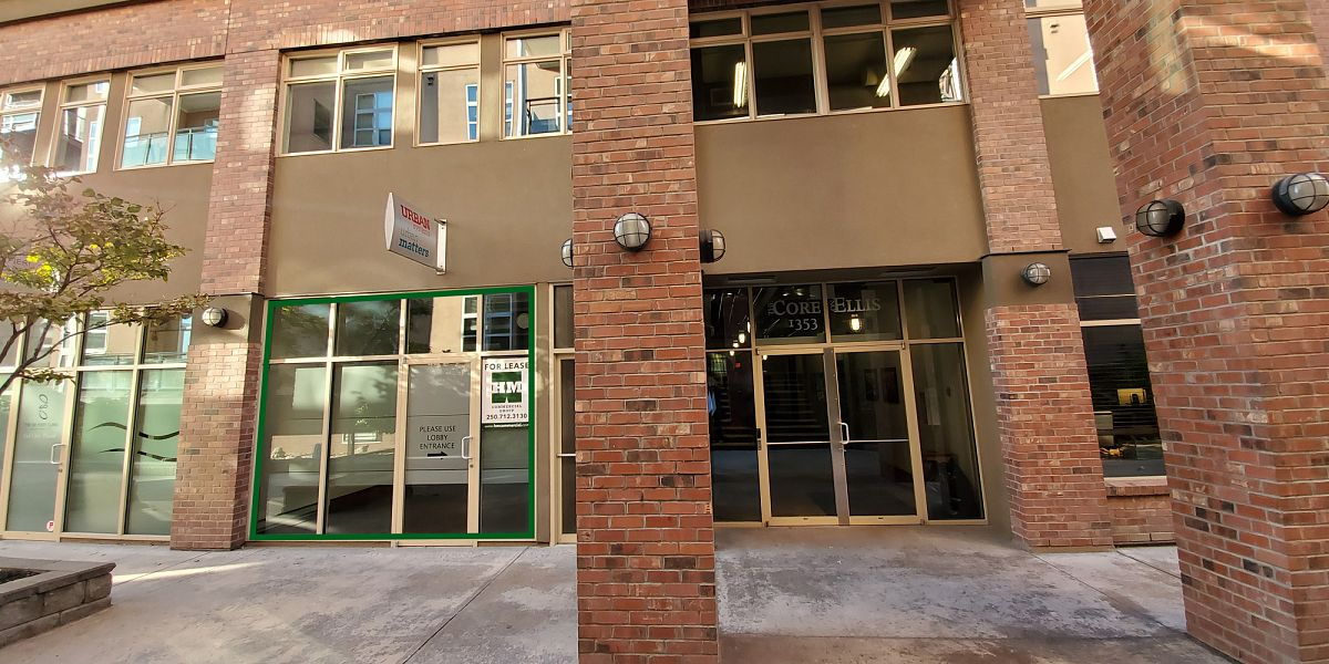 1353 Ellis Street, Kelowna, BC - Downtown Kelowna Office Space in The Core Building