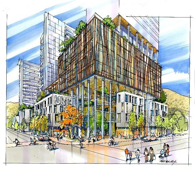 UBC to Establish New Downtown Presence