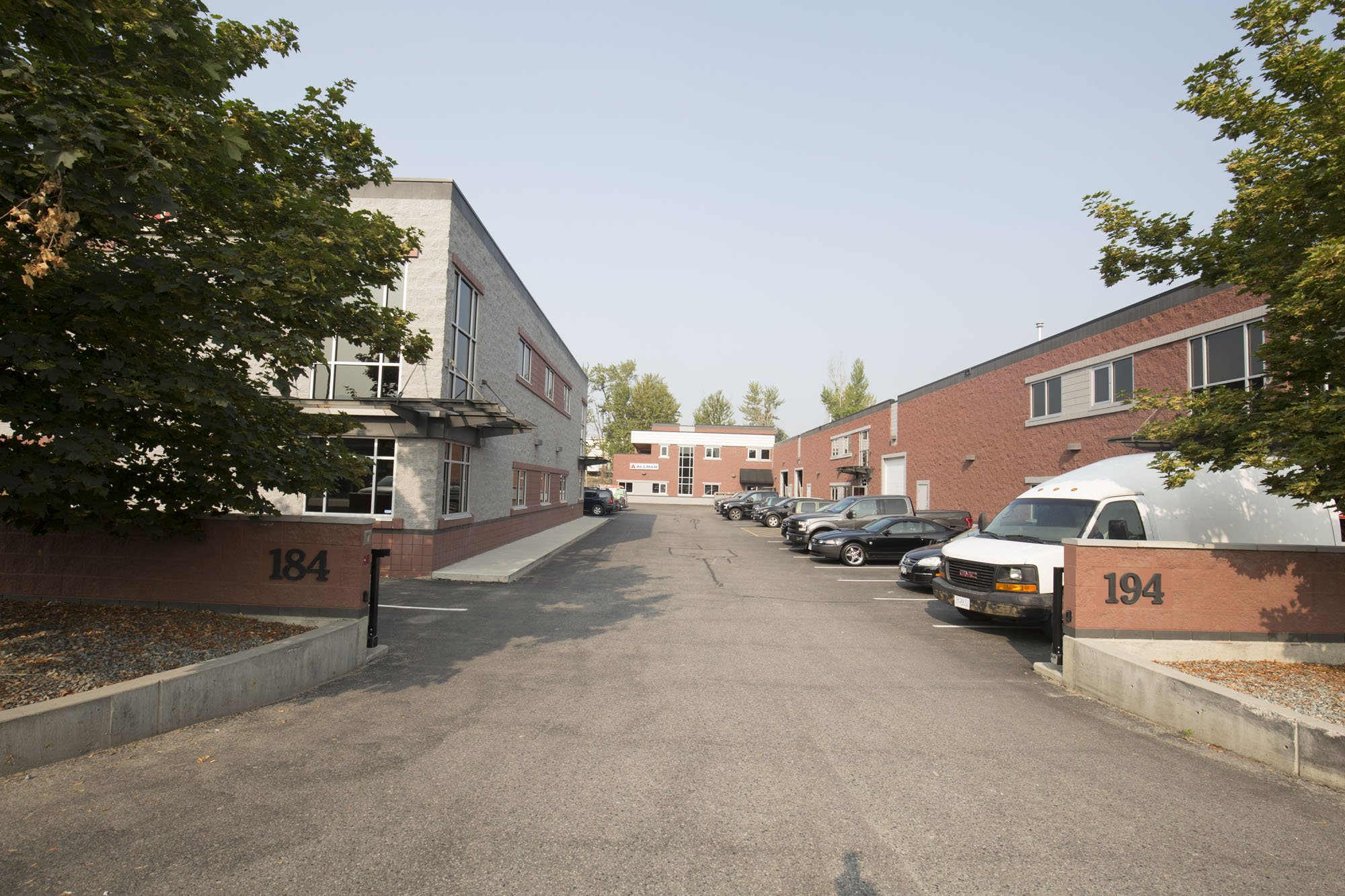 184-194 Adams Road, Kelowna, BC - Income Producing Strata Warehouse/Office Complex