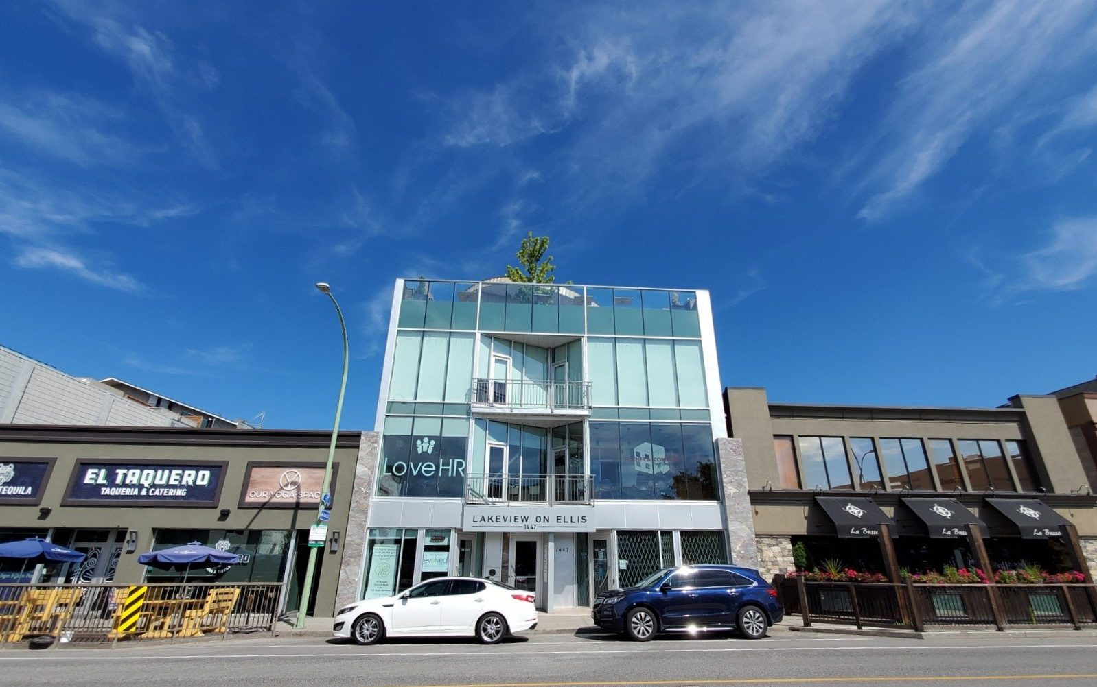 #304 - 1447 Ellis Street, Kelowna, BC - Move-In Ready Downtown Office Strata Space at Lakeview on Ellis