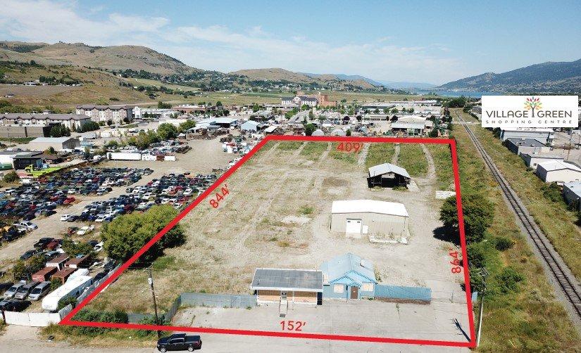 3101-3107 45th Avenue, Vernon, BC - Industrial Acreage in Vernon