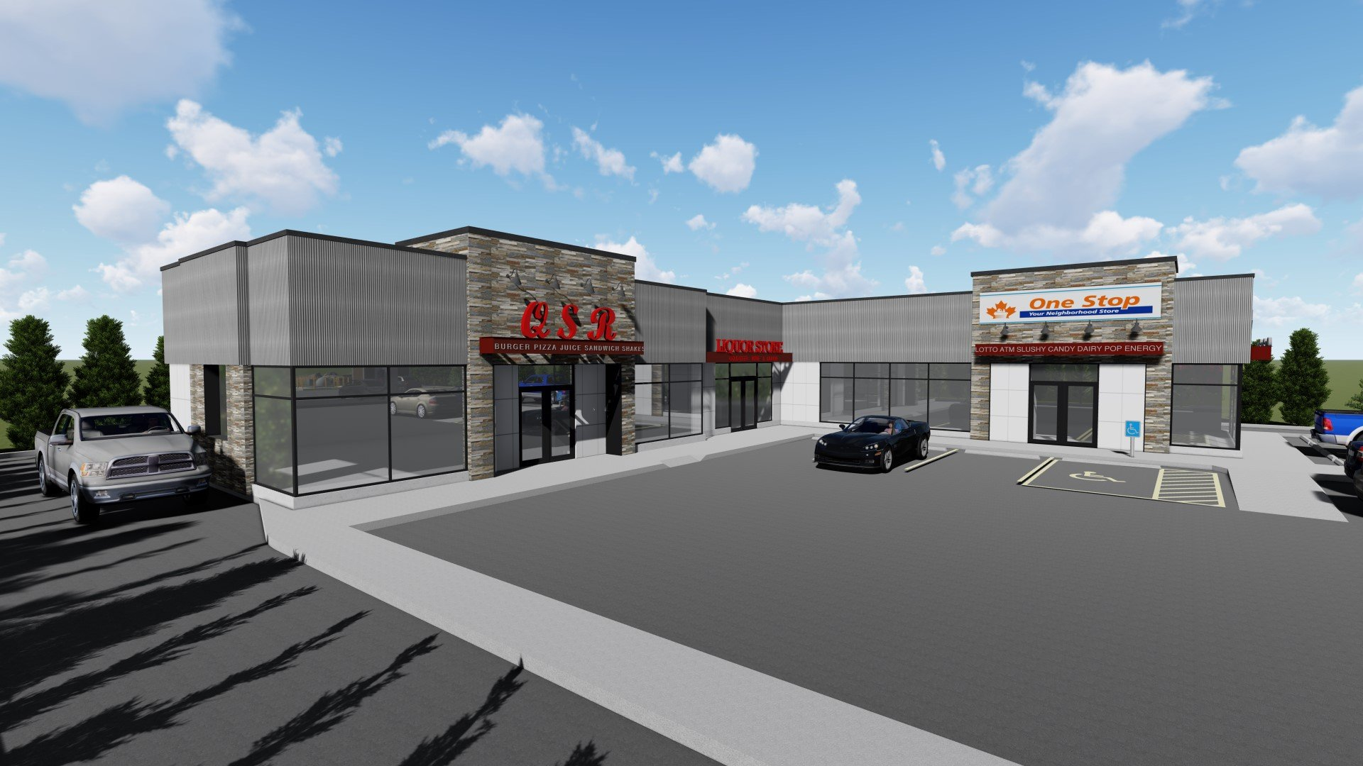 1799 Highway 33E, Kelowna, BC - New Retail Space in Black Mountain