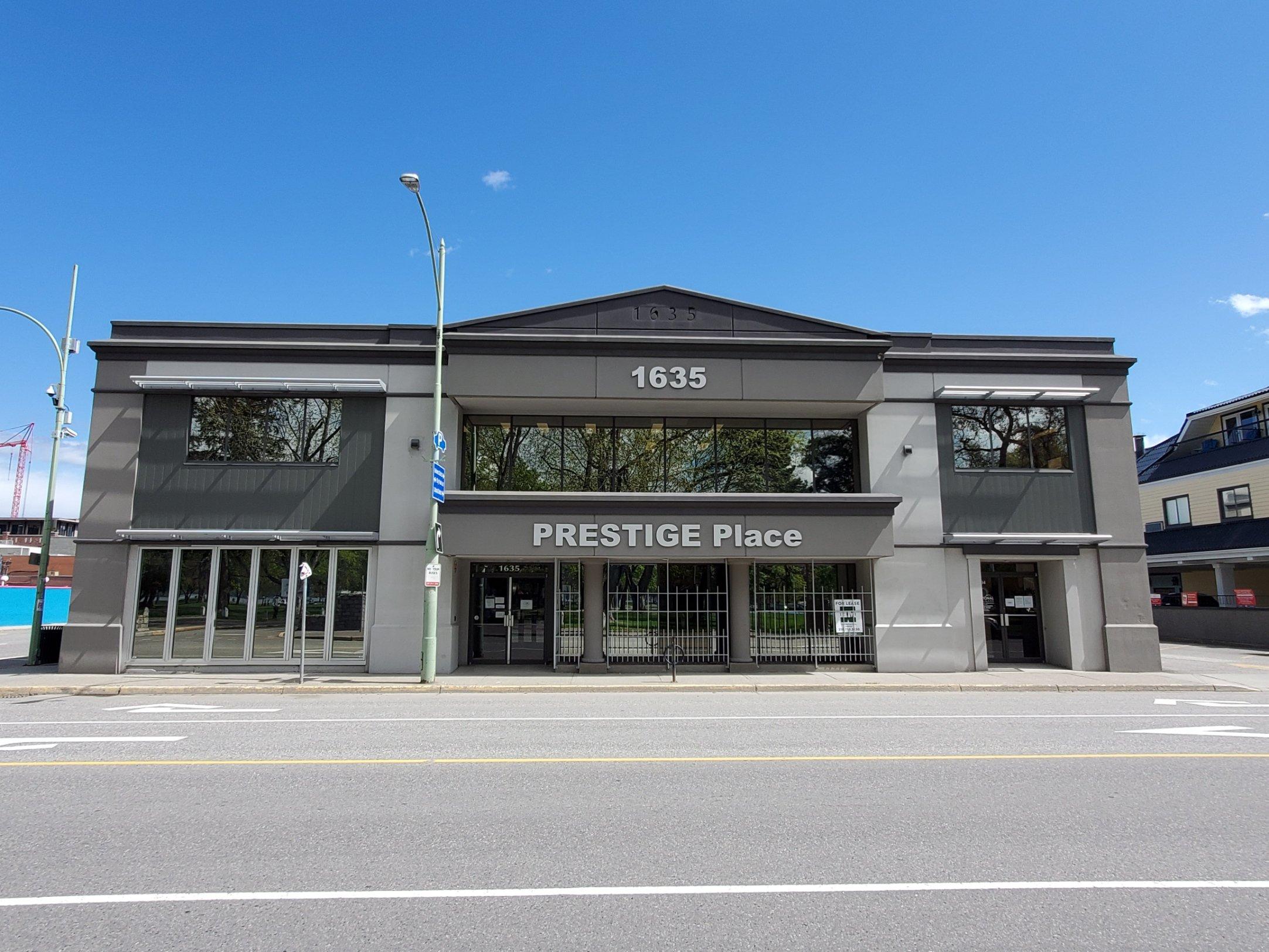 #104-1635 Abbott Street, Kelowna, BC - Professional Office Space at Prestige Place