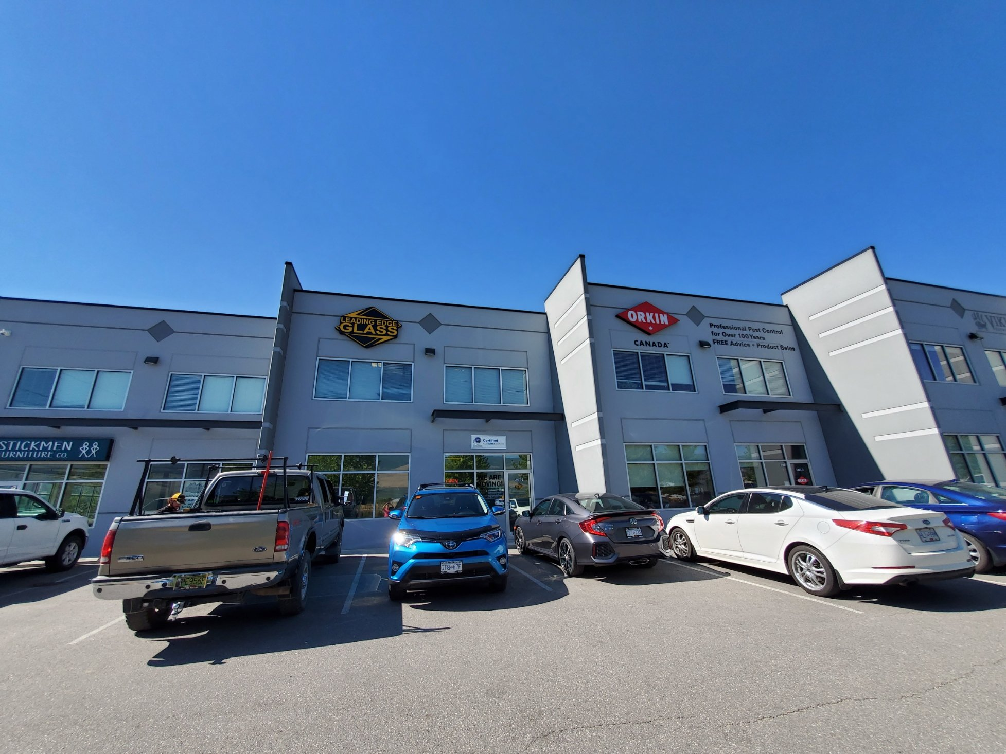 #2-3190 Sexsmith Road, Kelowna, BC - Modern Industrial Space for Lease in Reid's Corner