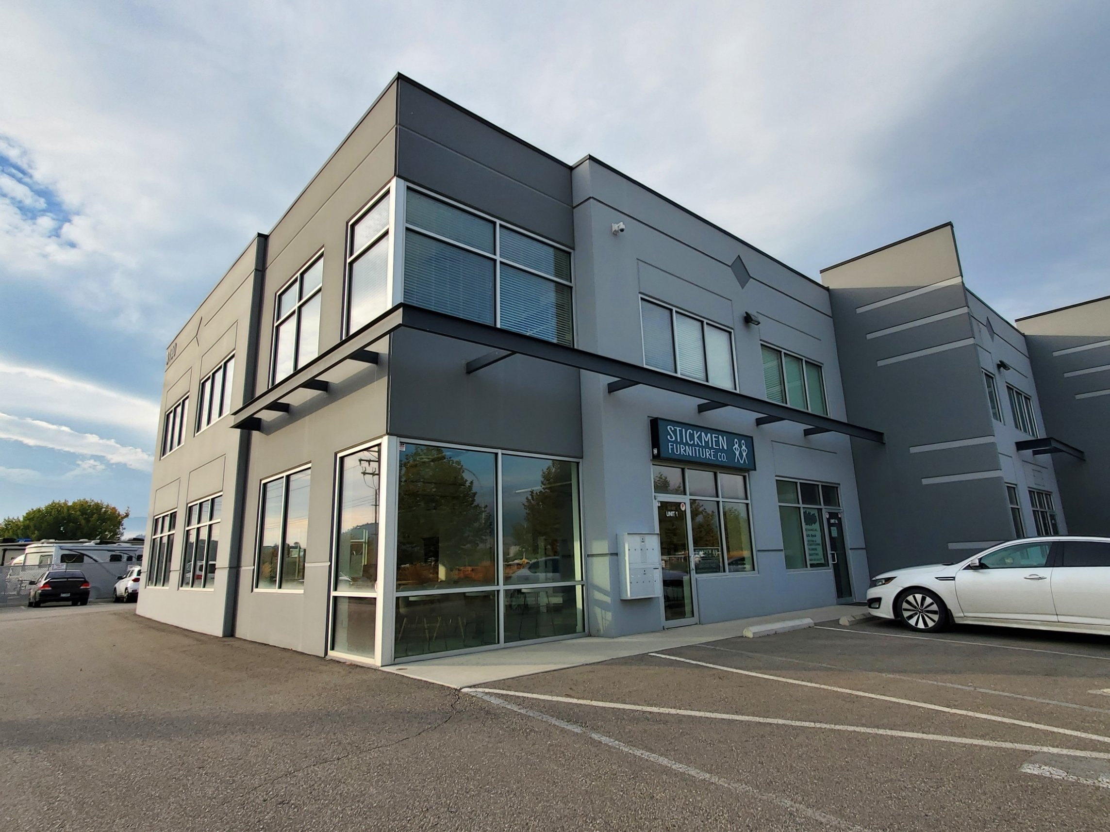 #1 - 3190 Sexsmith Road, Kelowna, BC - Industrial/Retail Space for Lease in Reid's Corner