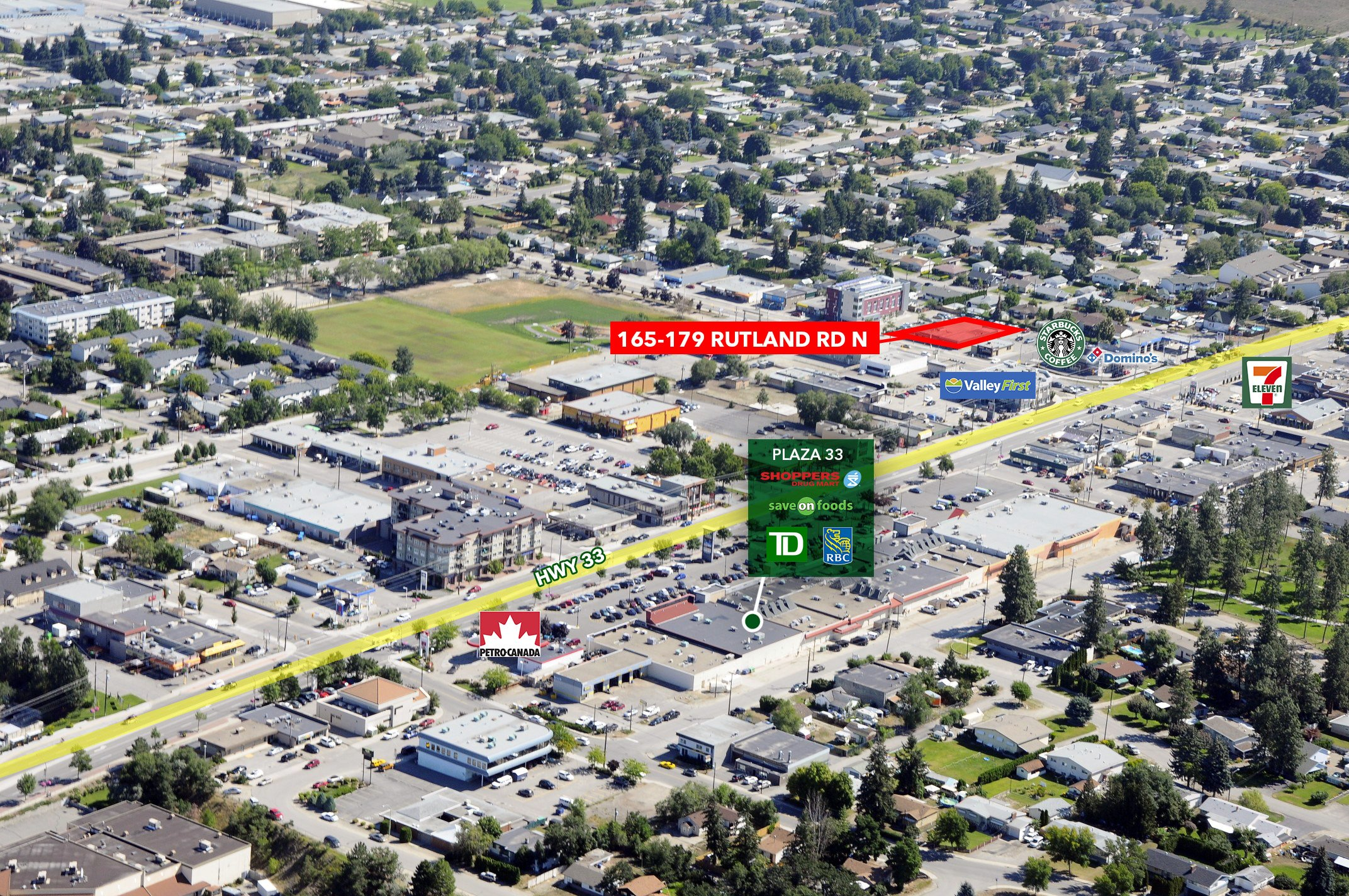 165-179 Rutland Road North, Kelowna, BC - Over Half Acre Redevelopment Site in Rutland