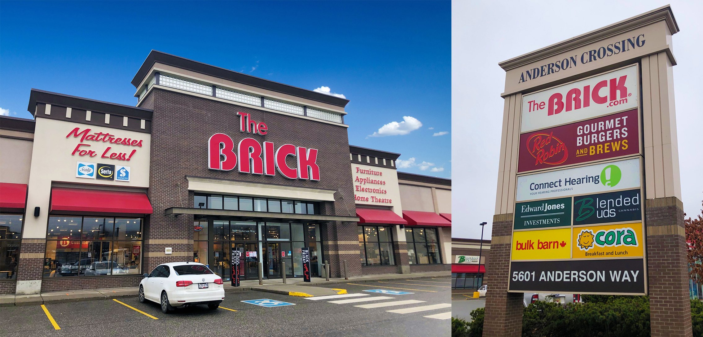5601 Anderson Way, Vernon, BC - Income Producing Retail Shopping Centre