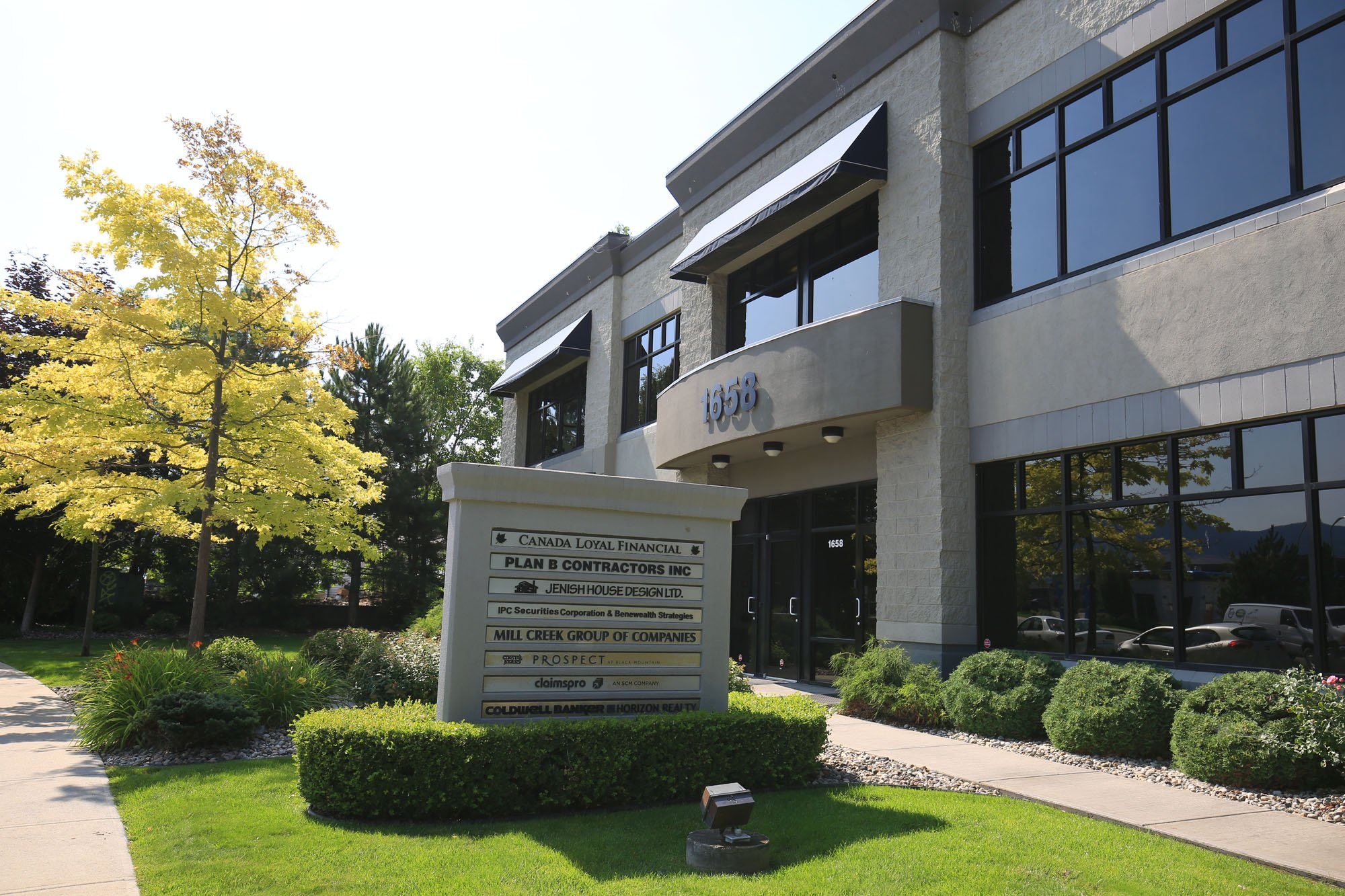 #101 - 1658 Commerce Avenue, Kelowna, BC - Central Kelowna Office Space for Lease
