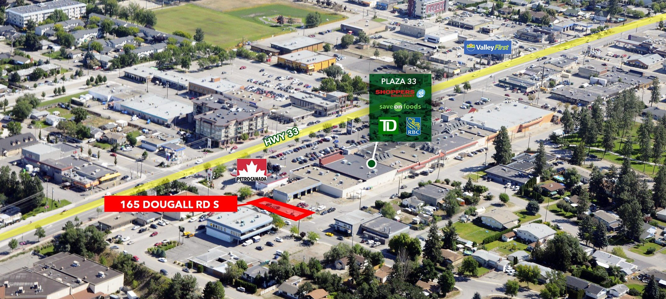 165 Dougall Road S, Kelowna, BC - Commercial Land in Rutland