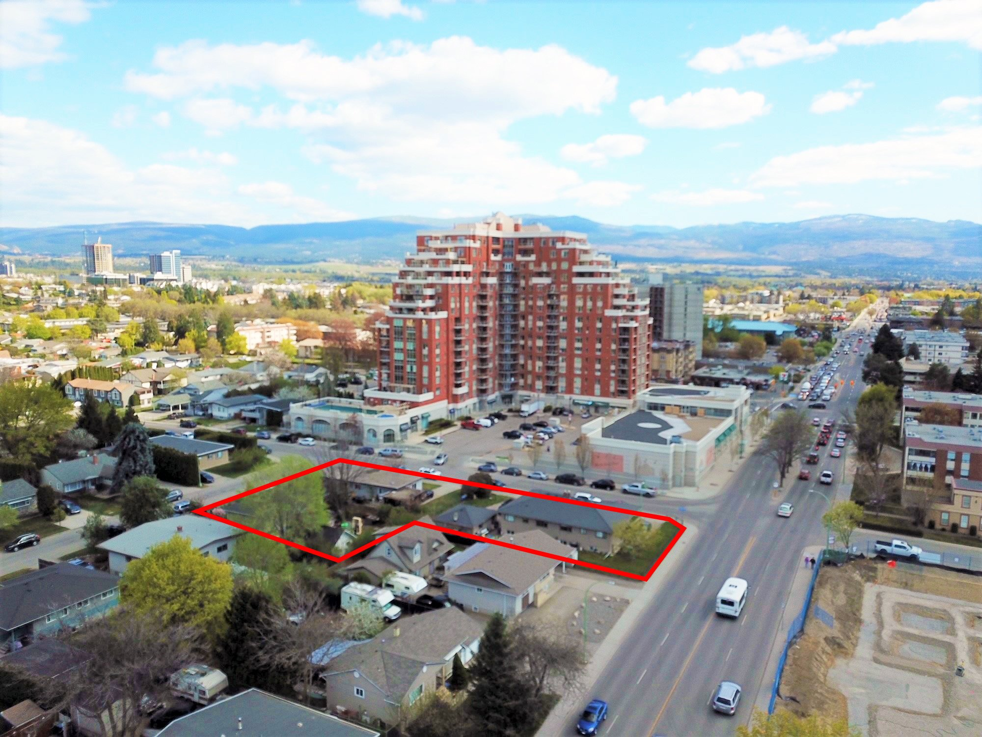 1104-1130 Lawson Avenue & 1488 Aspen Court, Kelowna, BC - Prime Redevelopment Site with Holding Income (4% Cap Rate)