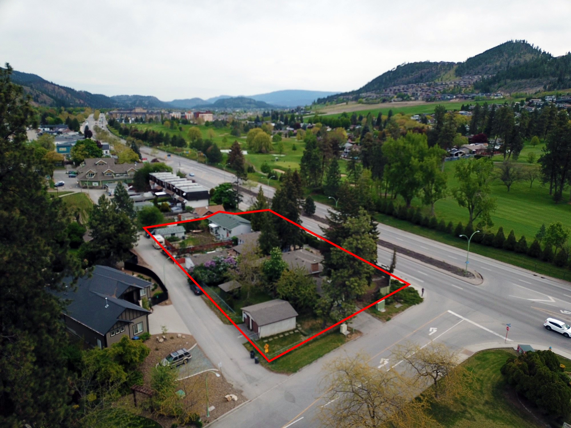 1064-1084 Glenmore Drive, Kelowna, BC - Redevelopment Land with Holding Income