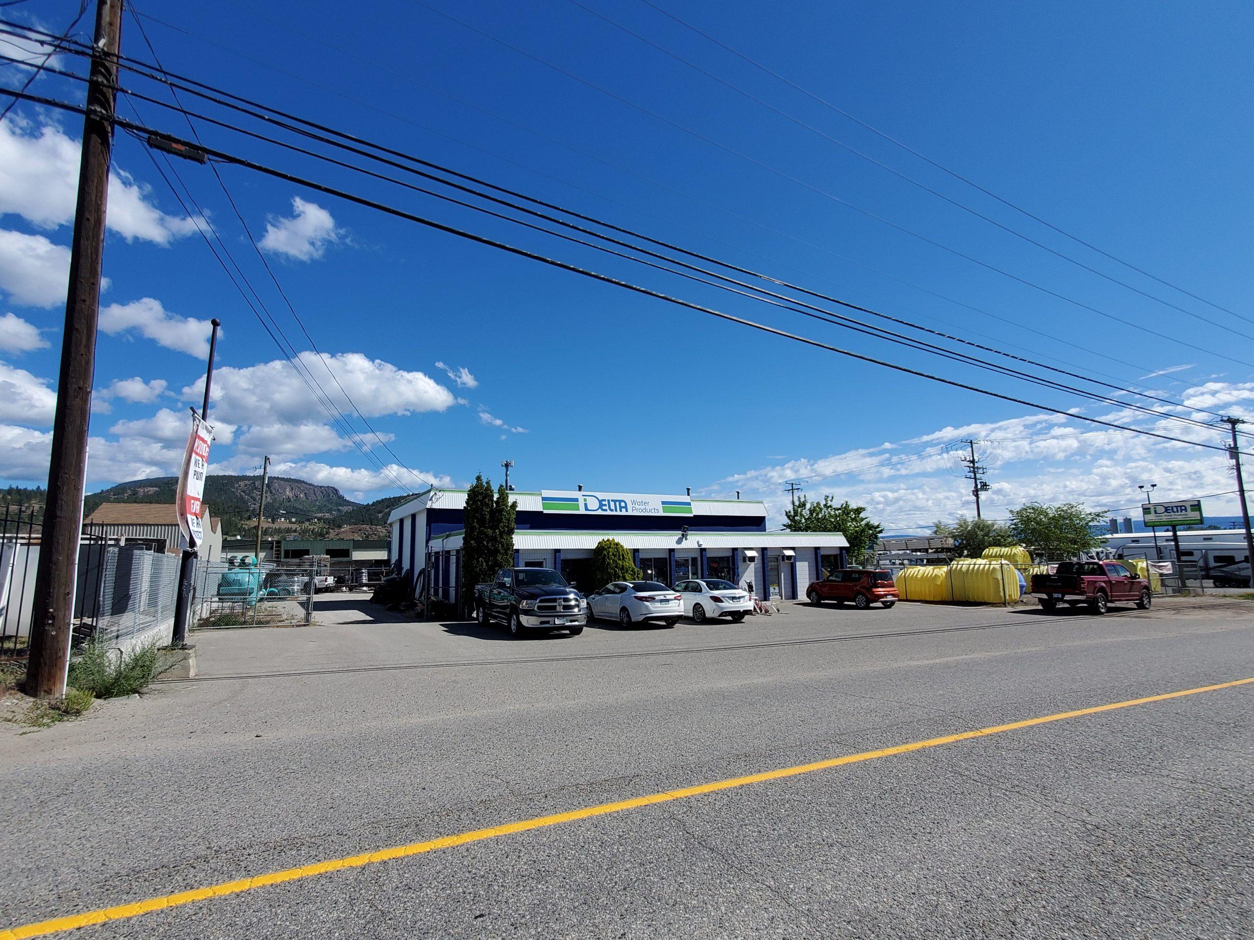 1524 Byland Road, West Kelowna, BC - Corner Industrial Lot with Holding Income