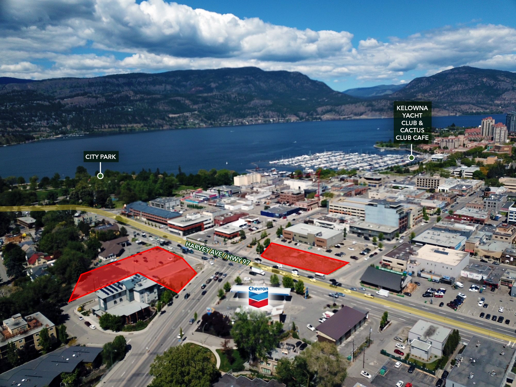 1746 Water Street & 311 Harvey Avenue, Kelowna, BC - Mixed Use Development Land