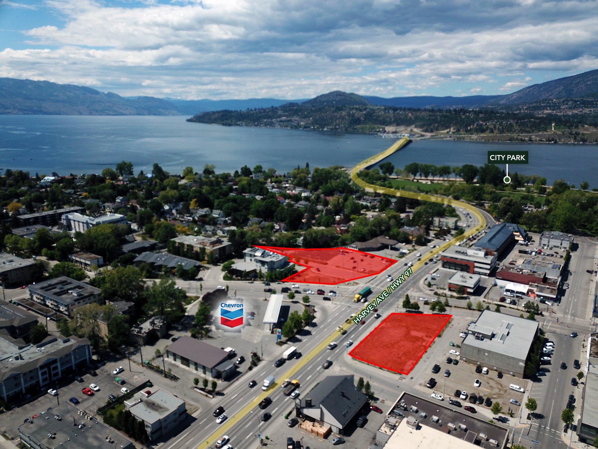 380 Harvey Avenue, Kelowna, BC - Mixed Use Development Land