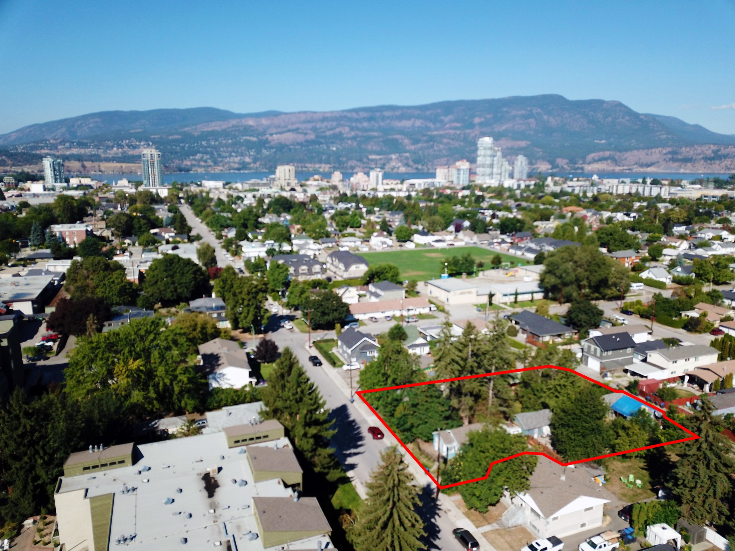 1022-1036 Lawson Avenue, Kelowna, BC - Two Lot Assembly in Central Kelowna Location